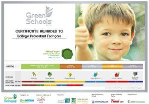 certificate-green-school