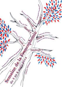 Programme de la Semaine de la Francophonie du 3 au 8 mars