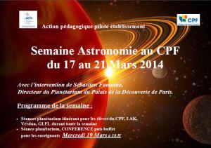 Semaine astronomie