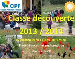Classe découverte CP
