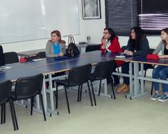 Visite de la Chef du Service Orientation et Enseignement Supérieur à l'AEFE Madame Lucia Da Silva (avril 2014)