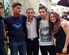 Nos jeunes aux Jeux Internationaux de la Jeunesse à Narbonne