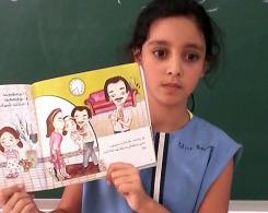 Les CE2 A, CM1B et CM2A vont en BCD, lisent des histoires en arabe… et les racontent en classe !