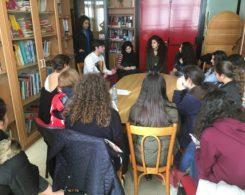 Mariam Nassif, Mariam El Meer, Layla Salhab, Mohamad Kabbani (anciens) étudiants en Francel   et au Royaume-Uni  (20.12.2016)