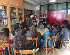Lara Hotait, Najla Beydoun, Edwyn Assaf (anciens) étudiants en Médecine à l'AUB (19.1.2017)