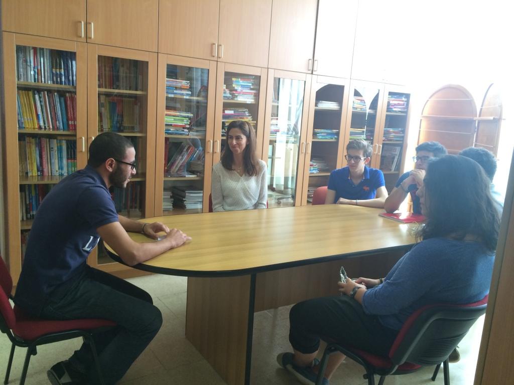 Rencontre avec Ali Aboul Hassan, ancien élève, actuellement étudiant en classe préparatoire scientifique au Lycée Henri IV (24 octobre 2014)