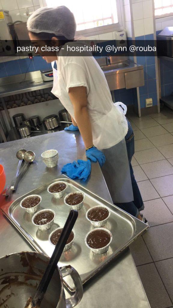 USJ classes ouvertes Arts culinaires