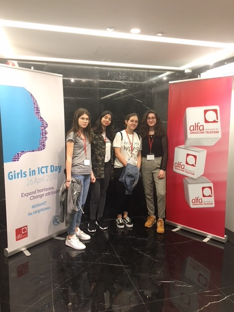 Girls in ICTday Alfa