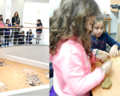 Les CE2A au Musée de la Préhistoire (2)
