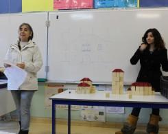 Architectes d'un jour avec Lina, Corine et Serge SOUED CE2ABCD