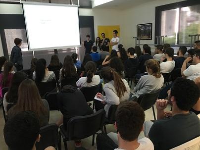 Présentation des spécialités en TS aux élèves de 1S (5.5.2016)