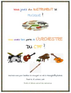 orchestre CPF