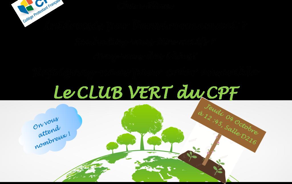 club vert 1