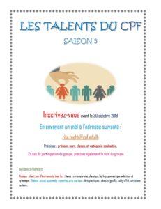 talents cpf