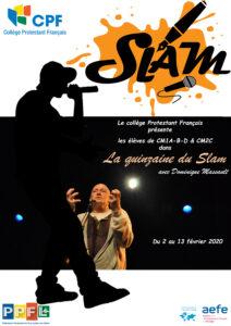 Affiche Slam 20