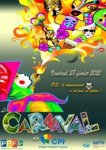 Affiche carnaval 20 A3