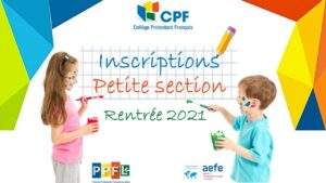 Inscription PS